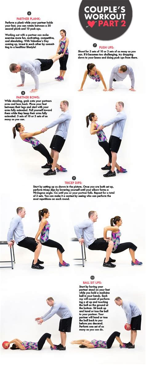 best 25 couples exercise ideas on
