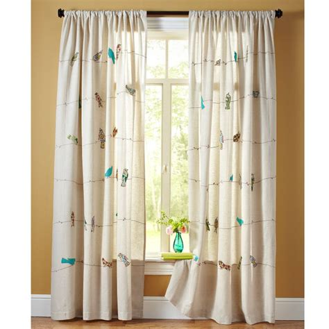 bird curtains drapes 1000 ideas about curtain wire on pinterest ikea