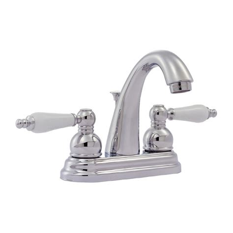 Classic Faucets by Shop Pfister Classic Polished Chrome 2 Handle 4 In