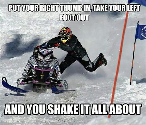 Snowmobile Memes - best 25 funny snow quotes ideas on pinterest minions