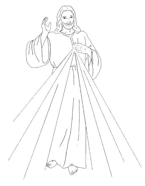 imagenes de jesus dela misericordia para colorear se 241 or divina misericordia compartiendo por amor
