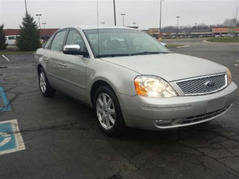 how to learn about cars 2006 ford five hundred user handbook buy used 2006 ford five hundred limited in 7444 e 116th st fishers indiana united states for