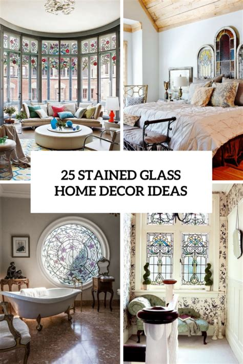 glass home decor 25 stained glass ideas for indoor and outdoor home decor