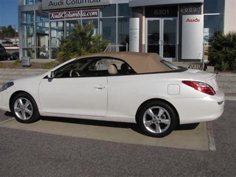 Toyota Solara Price Convertible Toyota Camry Solara Used Cars In South