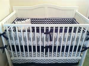Navy White Crib Bedding Crib Bedding Set Gray White Navy Blue From Butterbeansboutique On