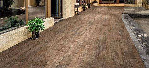 Cumberland Stone Antique Wood 8x48 Planks in Color Tobacco