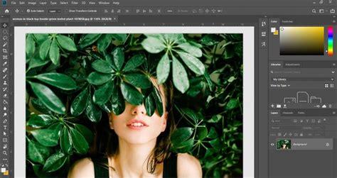 cepat membuat foto hitam putih  photoshop ya gampang