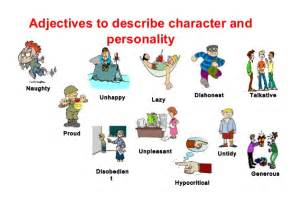 Imgs for gt personality adjectives for kids