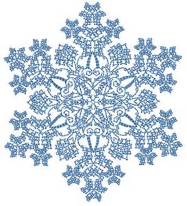 Pics photos snowflakes variety designs on blue with x mas tree