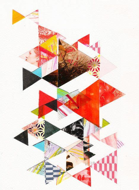 shape pattern collage 17 best images about geometric collages on pinterest