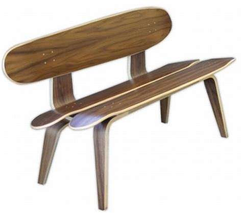 skateboard furniture skateboard inspired furniture n choose designbuzz