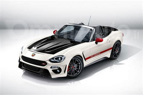 abarth will inject the fiat 124 spider with 200 hp and