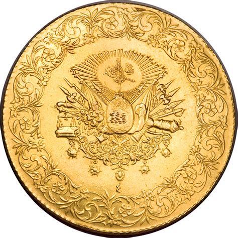 ottoman empire gold coins 500 kuruş mehmed v 1910 1914 ottoman empire km 765