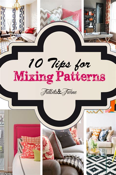 how to mix patterns design decorating ideas tidbits twine