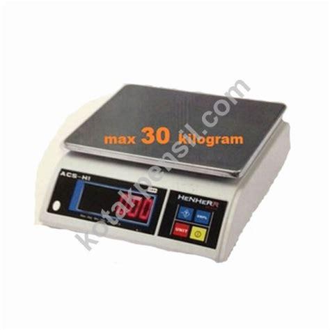 Timbangan Digital Acs jual timbangan barang digital henherr acs h1 led kirim