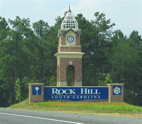 welcome to rock hill south carolina i 77 northbound