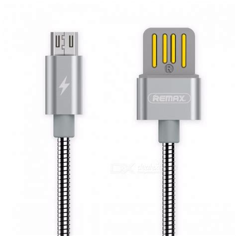 21 1m Fast Charger Data Remax Ls Micro Usb Cable Kabel Charging remax metal 2 1a micro usb to usb fast charging