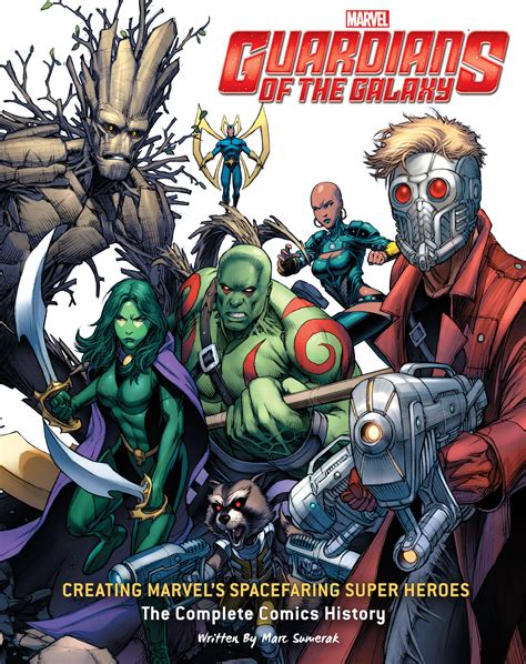 The Book Of The Guardian guardians of the galaxy creating marvel s spacefaring
