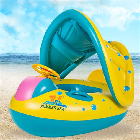 floating boat for baby baby infant child float seat boat swim ring swimming pool