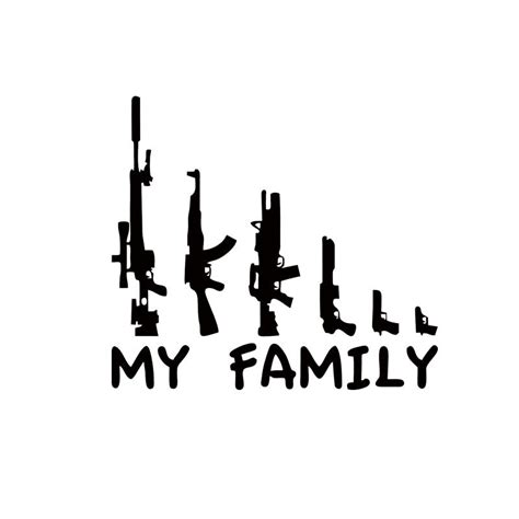 My Family Bumper Sticker