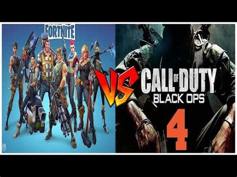 fortnite vs cod best of 2018 fortnite vs cod bo4 fortnite battle