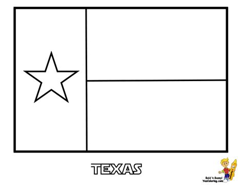 texas template for kids 43 texas state flag coloring at