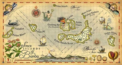spice island resort map accommodation at cilu bintang estate banda islands