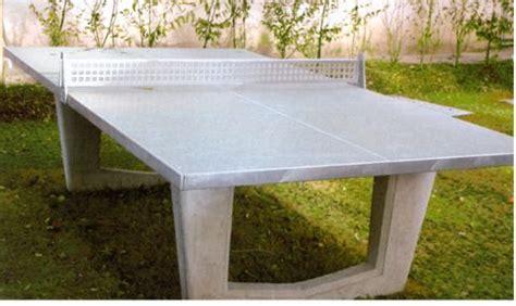 tavolo ping pong cemento tavolo da ping pong in cls