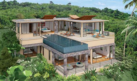 Amenagement Exterieur Villa by Plan Amenagement Exterieur Maison 17 Villa De Luxe