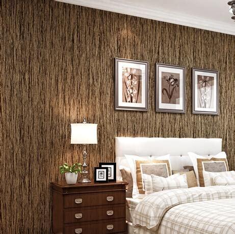 design wallpaper klasik beibehang klasik kayu antik pola stripe dicetak wallpaper