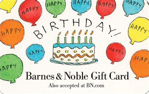 Barnes Gift Card - birthday balloons gift card 2000004062095 item