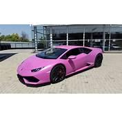 Rosa Lamborghini Och Bentley F&246r Kampen Mot Br&246stcancer