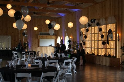 prom theme names with gold masquerade prom in black and white at maneeley s lodge in