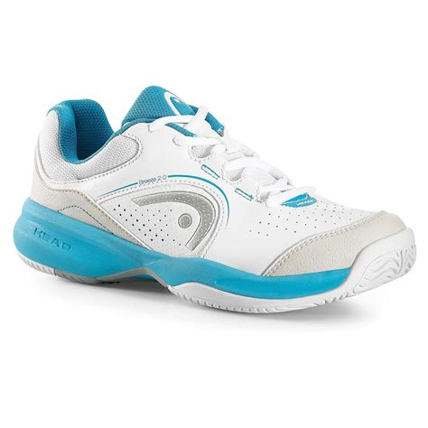 womens 2 0 tennis shoes white aqua