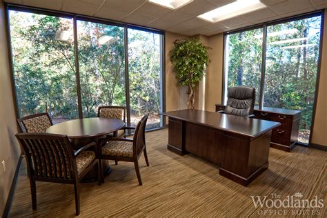 Unique Executive Desks Corporate Offices The Woodlands Office Suites