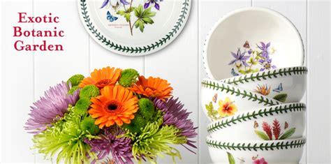 the botanic garden portmeirion portmeirion botanic garden dinnerware
