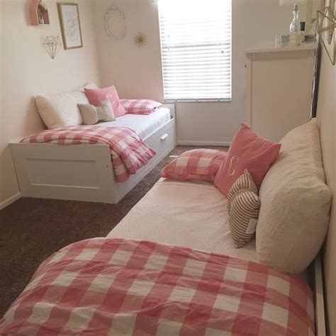 twin bed girl ikea beds tiny space little girl room pink and gold