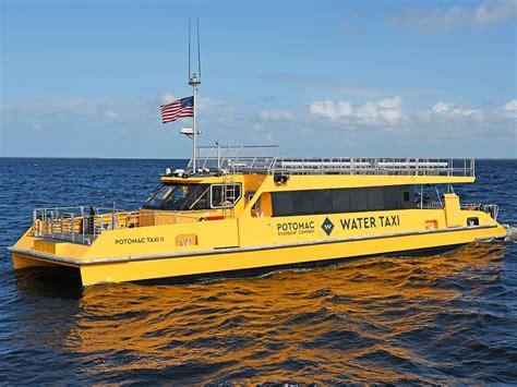 potomac boat company water taxi potomac riverboat company