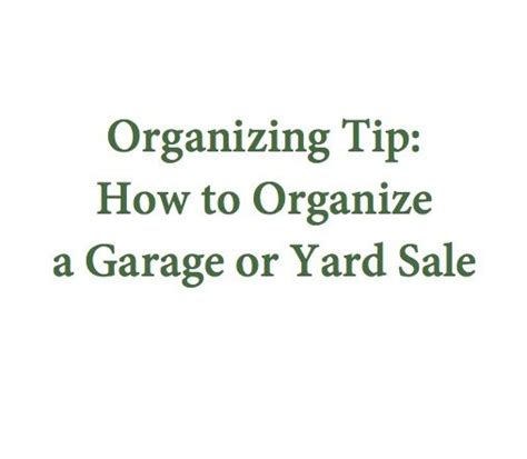 how to organize a garage sale 17 best images about yard sale planning on