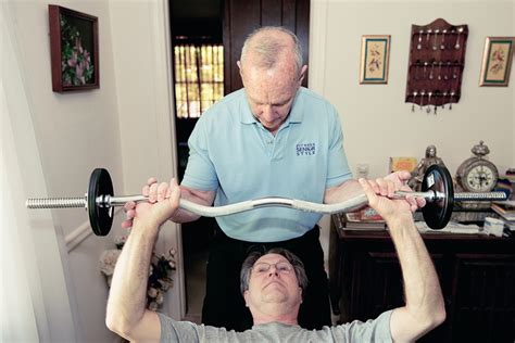exercise for seniors at home