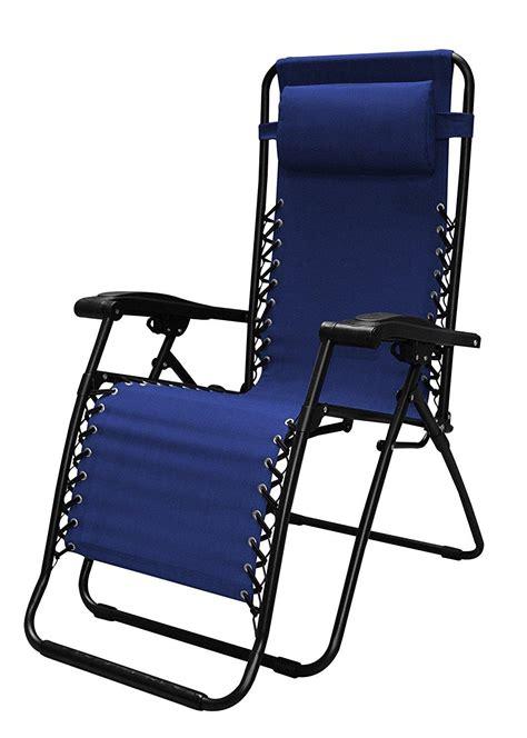 amazoncom caravan sports infinity  gravity chair blue garden outdoor