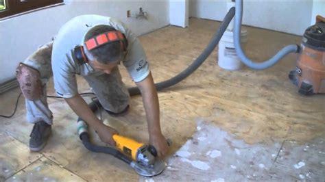 plywood subfloor preparation for hardwood laminate floor installation how to