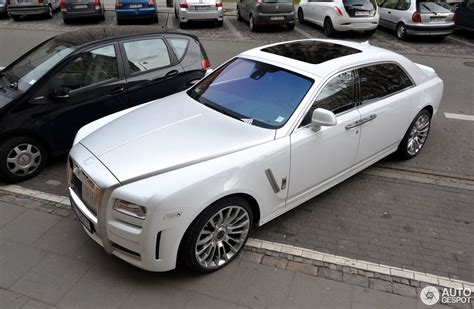 rolls royce white 2016 rolls royce mansory white ghost ewb limited 3 february