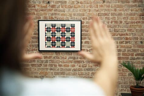 how to hang art on a brick or plaster wall new ways to display art 2015 trends
