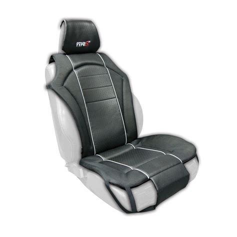 padded seat covers touring single black padded universal cushion seat cover