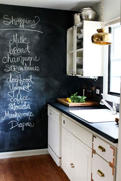 chalkboard in kitchen ideas chalkboard wall ideas a named pj
