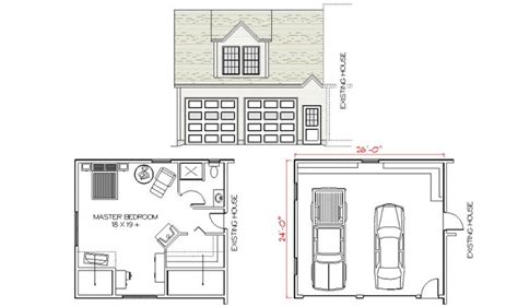 Above Garage Addition Plans by Pin By Mckay On Home Garage Addition
