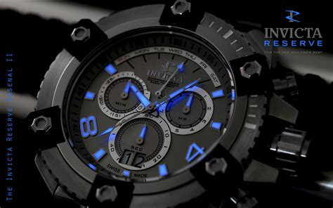 invicta reserve arsenal ii design s watches