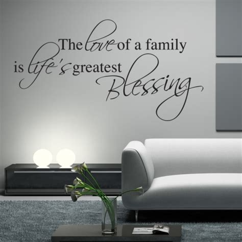 wall stickers family quotes family blessing wall sticker wall quotes wall stickers