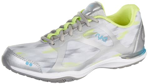 silver athletic shoes ryka womens grafik silver athletic shoes ebay